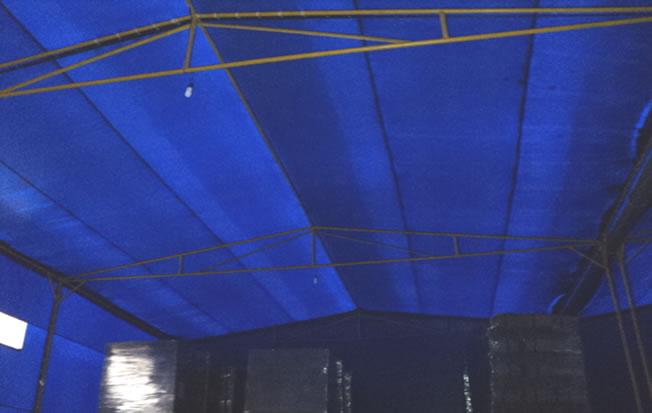 Carpas de lona pl stica y estructuras cobertores tensionadas - Toldos rafia ...